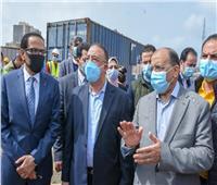 وزير التنمية المحلية ومحافظ الإسكندرية يتابعان تطوير محطة مصر