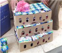 ضبط أغذية فاسدة وتحرير 18 محضر متنوع في بني سويف