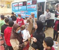 «قلوب أصحاء» تنظم قافلة طبية للكشف المجاني على الأطفال بالمحلة الكبرى