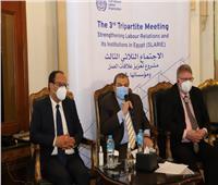 «سعفان» و«أوشلان» يعقدان اجتماعا لمشروع تعزيز علاقات العمل في مصر