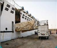 محافظ جنوب سيناء يتابع وصول أول سفينة تجارية قادمة من ميناء سواكن بالسودان