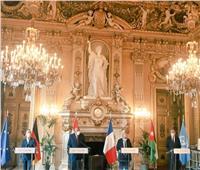بيان مشترك لوزراء خارجية مصر وفرنسا وألمانيا والأردن لمواصلة عملية السلام