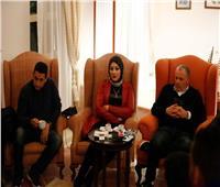 دينا الرفاعي: أبوريدة قادر على حسم مقعد الفيفا