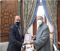 رئيس ديوان الوقف السني العراقي يلتقي شيخ الأزهر