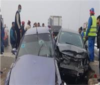 مصرع شخصين وإصابة 23 آخرين في انقلاب سيارة بالإسماعيلية