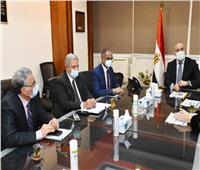 وزير الإسكان يبحث مع «الهابيتات» تنفيذ مشروعات مياه الشرب والصرف الصحي