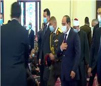 بث مباشر| الرئيس السيسي يؤدي صلاة الجمعة بـ«مسجد المشير طنطاوي»