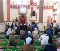 سكرتيرعام أسوان يفتتح مسجدين بكوم أمبو
