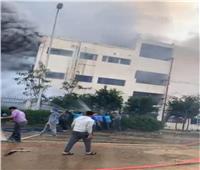 محافظ القليوبية ينفي رفع التعويضات في حادث حريق مصنع العبور |خاص