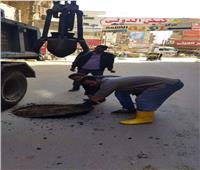 تطهير «مطابق» الصرف لحل شكاوى المواطنين بالمنيا