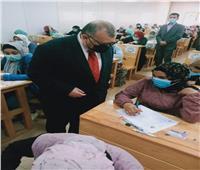 انتظامالامتحانات بكليتي التربية الرياضية والتربية للطفولة المبكرة بجامعة السادات