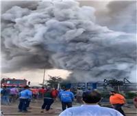 القبض على صاحب مصنع العبور المحترق