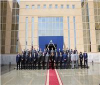جامعة أسوان تشارك في فعاليات البرنامج التدريبي لأعضاء المجلس الأعلى للجامعات