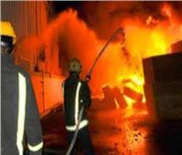 حريق هائل في مصنع قمامة بقرية «تونا الجبل» بالمنيا | فيديو