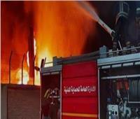 «نيابة المنيا» تعاين موقع حريق مصنع تدوير القمامة