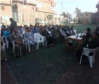 فريق «حياة كريمة» يستمع لمطالب أهالي قرى المنوفية