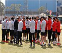 موسيماني يحاضر اللاعبين قبل انطلاق مران الأهلي