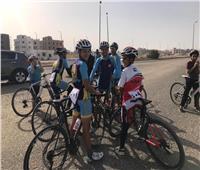 مدينة الفيوم الجديدة تستضيف ماراثون دراجات لتشجيع الرياضة