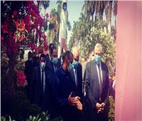 وزيرا الزراعة والرياضة يفتتحان معرض «زهور الربيع» الـ 88 | صور