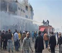 الشرقية تودع 7 من أبنائها ضحايا حريق العبور