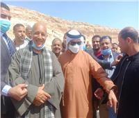 سفير الإماراتفي منطقة «تل العمارنة» الأثرية بالمنيا