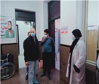 """تطعيم 452 من كبار السن بلقاح """"كورونا""""بالشرقية"""