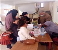 قافلة طبية مجانية لأهالي حي الزيتون بمدينة السادات