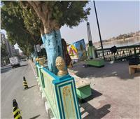 محافظ أسيوط يشيد بتجميل كورنيش النيل بواسطة طلاب التعليم الفني