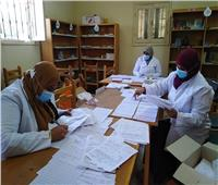 الكشف على ٢٨٥٠ مواطناً خلال القوافل الطبية في أسوان