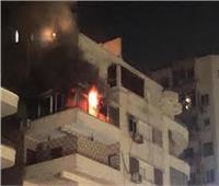 السيطرة على حريق شقة سكنية بالعجوزة