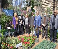 «تعليم الجيزة» تشارك في معرض زهور الربيع الـ88 بحديقة الأورمان