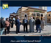 محافظ جنوب سيناء يتفقد عددًا من المشروعات بالطور  صور