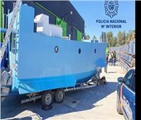 ضبط غواصة مصنوعة «يدويًا» تُستخدم في نقل المخدرات بإسبانيا