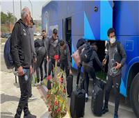 بعثة بيراميدز في مطار القاهرة استعدادًا للسفر إلى تنزانيا
