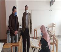 انتظام سير امتحانات الفصل الدراسي الأول بجامعة بنها