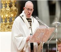 البابا فرنسيس يدعو لإلقاء الاسلحة في سوريا وإعادة الإعمار
