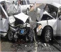 إصابة 3 أشخاص في حادث تصادم سيارتين بالعريش