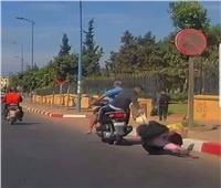 أمن القاهرة يتحفظ على كاميرات المراقبة في سحل سيدة لسرقتها بالبساتين