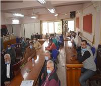رحمي يتابع تنفيذ مبادرة «صفط تراب بداية الطريق لقرى مصرية مستدامة»