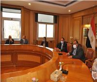 اجتماعات لوضع الأسس والتخطيط العلمي لجامعة حلوان الأهلية