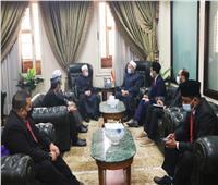 المفتي يستقبل نظيره في ماليزيا لبحث تعزيز التعاون