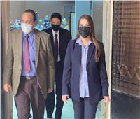 نائب رئيس جامعة بنها يتفقد سير الامتحانات بكلية الآداب