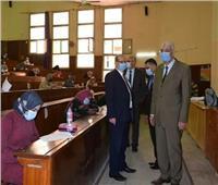 «القاصد» يتفقد امتحانات الدراسات العليا بـ«آداب وعلوم المنوفية»