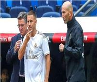 زيدان يطالب جماهير ريال مدريد بالصبر بشأن «هازارد»