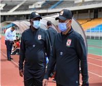«موسيماني» يناقش مع عبد الحفيظ ترتيبات مباراة الغد