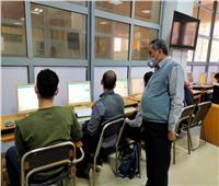 107 طلاب يؤدون الامتحانات الإلكترونية بـ«هندسة طنطا»