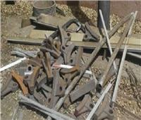 التحقيق مع عصابة سرقة مهمات السكة الحديد بالقليوبية