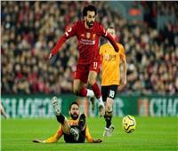 الشوط الأول  جوتا يمنح هدف تقدم ليفربول على وولفرهامبتون