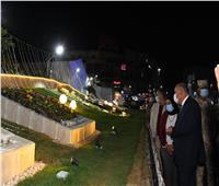 محافظ قنا يفتتح أعمال تطوير ميدان الساعة   صور