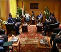 «وزير الرياضة» يفتتح مشروعات شبابية بالفيوم
